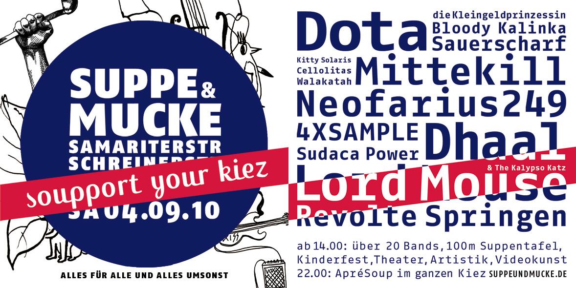 Suppe&Mucke Flyer
