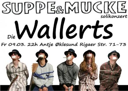Die Wallerts – Suppe&Mucke-Solikonzert 09.03.2012